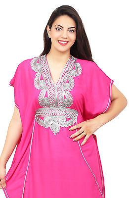 Moroccan Caftan Women kaftan Arabian Beach Dress Fancy Abaya Middle East Africa 2