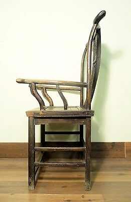 Antique Chinese High Back Arm Chairs (5800), Circa 1800-1949 9