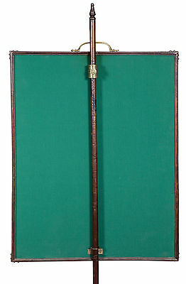 SWC-Chippendale Carved Mahogany Pole Screen with Needlework panel, c.1780 5