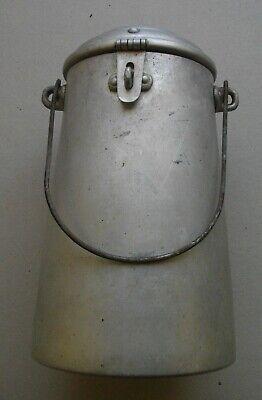 Antigua Lechera De 2 Litros Aluminio ( Con Pasador Y Asa) 26 X 13 Ctms 3