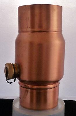 Titanzink oder Edelstahl Regenwassersammler NW 80//100//120 mm aus Kupfer