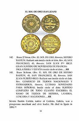 Fumero Fumero and Felix R Hacienda Tokens of Puerto Rico by Felix J