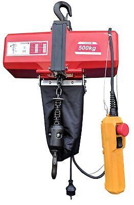 Électrique Palan à Chaîne 500Kg à la 10 Mètre Poulie 5