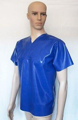 Latex Kasack OP-Hemd für Herren