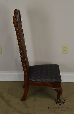 American Drew Bicentennial Edition Tree of Promis Caned Back Slipper Chair 3