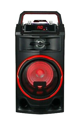 Altavoz Portatil 25W Altavoces Bluetooth Usb Radio Fm Karaoke Bateria Recargable 4