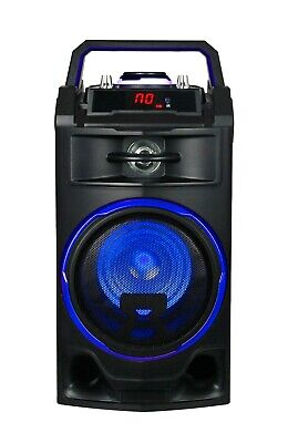 Altavoz Portatil 25W Altavoces Bluetooth Usb Radio Fm Karaoke Bateria Recargable 3