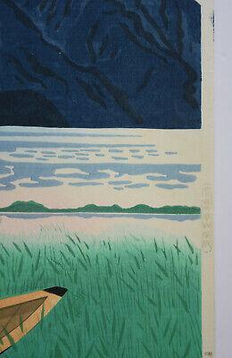 Originale Japanese Woodblock Print By Nishijyama Hideo 5