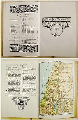 1912 SIGNED Bezalel LILIEN Luther BIBLE Jewish ART BOOK Art Nouveau JUGENDSTIL 4