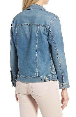 NWT AG Jeans Adriano Goldschmied Nancy 17 Year Grunge Boyfriend Denim Jacket XS