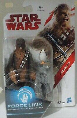 """Star Wars FORCE LINK 3.75"""", C-3P0, Luke, Kylo Ren, Rey, Obi-Wan Kenobi, Yoda. 7"""