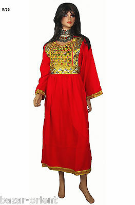 Orient Nomaden Tracht afghan kleid Tribaldance afghanistan traditional dress R16 2