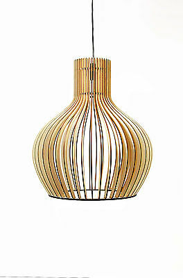 h ngeleuchte deckenlampe modern medium pendelleuchte design holz neu chf picclick ch. Black Bedroom Furniture Sets. Home Design Ideas