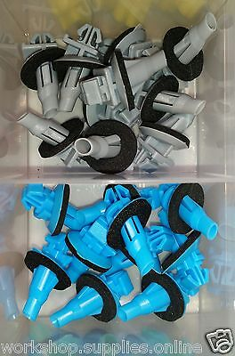 Toyota Prado Landcruiser 120 Series Body Mould Clip Kit Wheel Arch Flare Flair