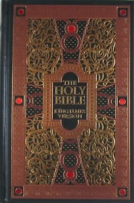 NEW KJV Holy Bible King James Version Illustrated By Gustave Dore Leather Bound 2