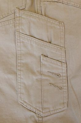 Cargo Pants Work Trousers BigBEE Elastic Band Ankle Cuff Cotton Tapered UPF 50+ 7