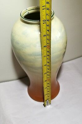 Vintage UK Empire Ware 1930s porcelain hand painted Vase H26cm 5