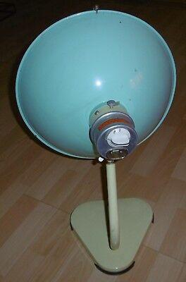 arzt tisch /wand lampe wärme alt top deko mint / gelb thermolite super 60 / 70er 6