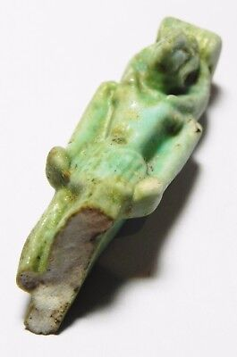 ZURQIEH -asw176- ANCIENT EGYPT , STUNNING LARGE THOTH AMULET. UPPER PART. 5