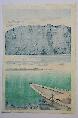 Originale Japanese Woodblock Print By Nishijyama Hideo 6