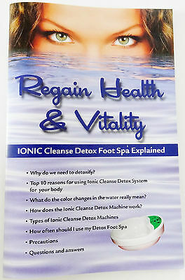 Ionic Cleanse Foot Detox Spa System, Upgraded, Safer to Use with no wrist straps 7