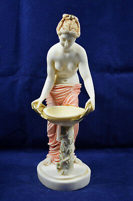 Hestia statue ancient Greek Goddess of the family and the state handpainted 2