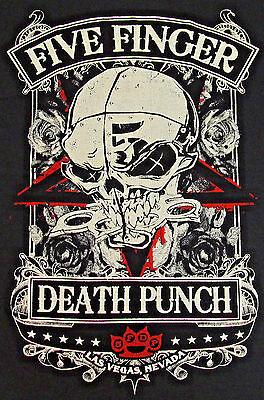 Five Finger Punch T Shirt Las Vegas Nevada Heavy Metal Tee Men New