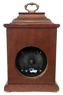 Lovely Elliott London Garrard Mantel Bracket Clock With Brass Dial 4