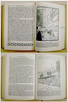 1912 SIGNED Bezalel LILIEN Luther BIBLE Jewish ART BOOK Art Nouveau JUGENDSTIL 5