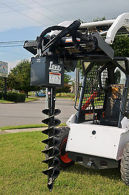 BOBCAT SKID STEER Attachment - Lowe 750 Classic Round Auger - 9