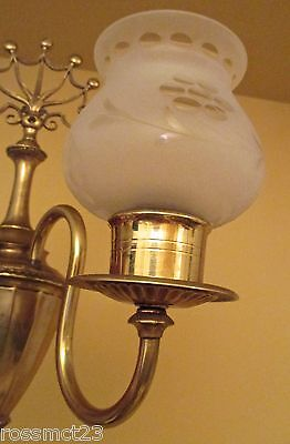 Vintage Lighting antique matched pair of 1930s sconces 2