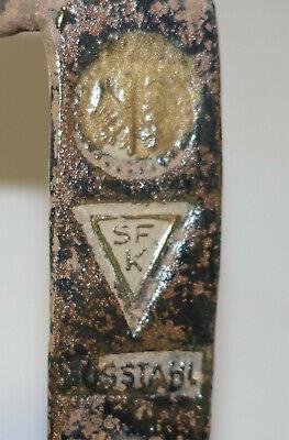 2 x SENSE um 80cm wahrscheinlich DDR-Fabrikat *mit Stempel* Bauernhof-Nachlass 2