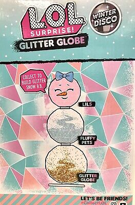 LOL Surprise Winter Disco Series Glitter Globe Doll New Ball SHIPS TODAY 4