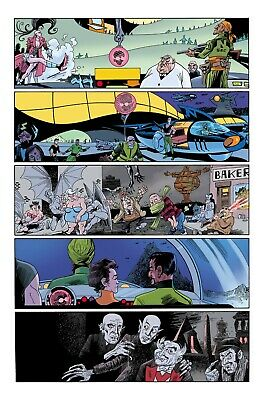 League of Extraordinary Gentlemen THE TEMPEST #5 by Alan Moore & Kevin O'Neill 2