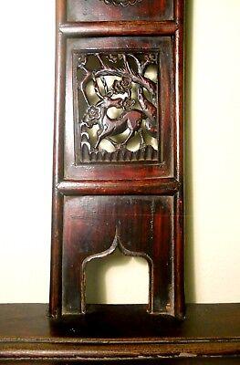 Antique Chinese High Back Arm Chairs (2787)(Pair), Circa 1800-1849 4