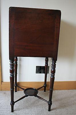 ANTIQUE Scottish Victorian Bedside Table 2