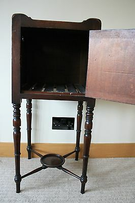 ANTIQUE Scottish Victorian Bedside Table 5