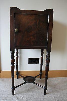 ANTIQUE Scottish Victorian Bedside Table 3