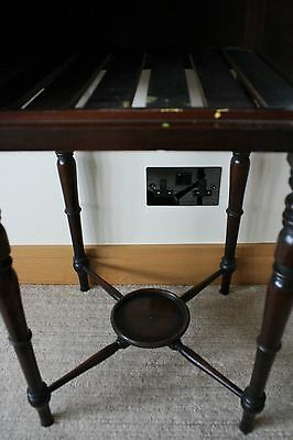 ANTIQUE Scottish Victorian Bedside Table 11