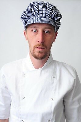Baker Caps Black White Catering Hats for Chef Bouffant CAP in many colours 4