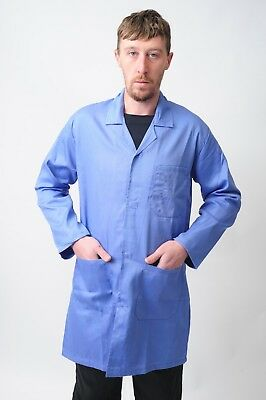 White Navy Maroon Royal Blue Lab Coats Hospitals Cleaning warehouse Lab coats