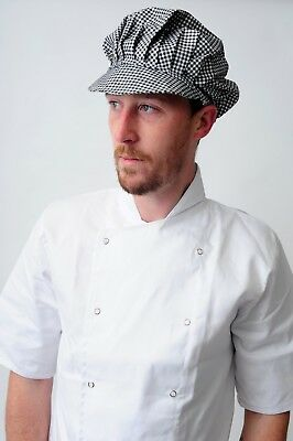 Baker Caps Black White Catering Hats for Chef Bouffant CAP in many colours 5