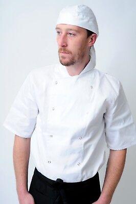 chef bandana ties and back protector head band Restaurant Work Wear Hat zandana 3
