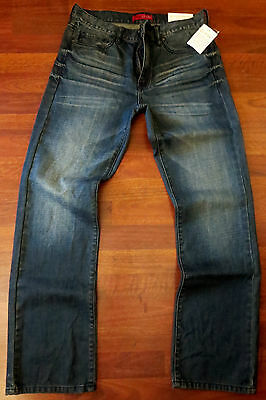 Guess Straight Leg Jeans Men/'s Size 30 X 30 Vintage Distressed Wash NEW