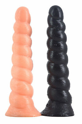 ENORME Dildo a sfere plug anale sex toy anal ventosa silicone corno 11