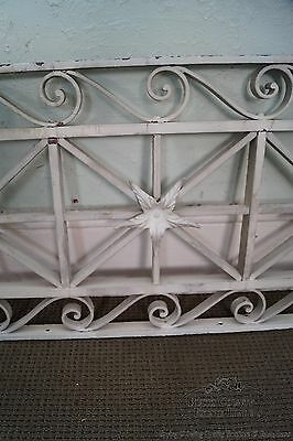 Antique Pair of Hand Wrought Iron Regency Style Wall Grates (B) 8