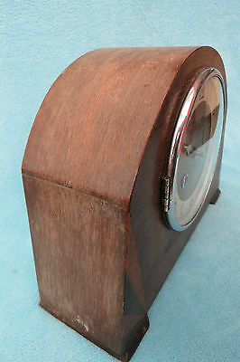 Vintage Kienzle Art Deco String Mantel Clock For Spares Or Repair 5