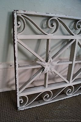 Antique Pair of Hand Wrought Iron Regency Style Wall Grates 5