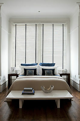 Wooden Venetian Blinds with Tapes - 25, 35 & 50mm Made To Measure Wood Blinds 7