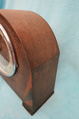 Vintage Kienzle Art Deco String Mantel Clock For Spares Or Repair 4